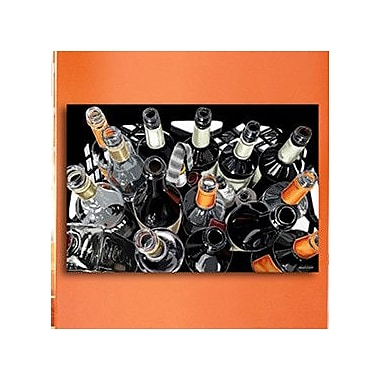 Maxwell Dickson Empty Bottles Graphic Art on Canvas; 16'' H x 20'' W