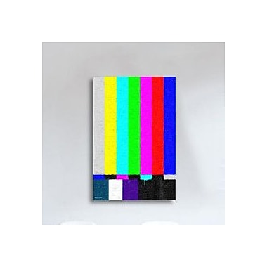 Maxwell Dickson ''No Signal'' Graphic Art on Canvas; 18'' H x 24'' W