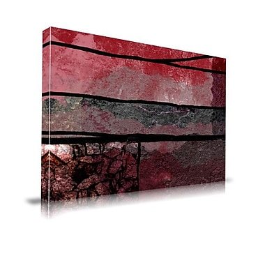Maxwell Dickson ''Geophysics'' Graphic Art on Wrapped Canvas; 20'' H x 30'' W