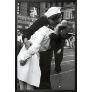 Buy Art For Less 'Kissing the War Goodbye Sailor and Nurse' Framed Photographic Print