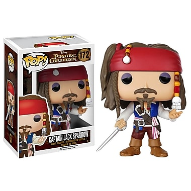 Pop! Figurine en vinyle Disney : Pirates, Jack Sparrow