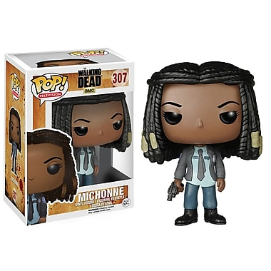 Pop! Figurine en vinyle de télésérie : The Walking Dead, Michonne (Saison 5)