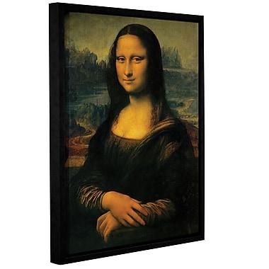 ArtWall Mona Lisa by Leonardo Davinci Framed Painting Print on Wrapped Canvas; 24'' H x 18'' W