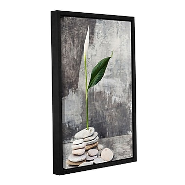 ArtWall Calla Lilly by Elena Ray Framed Photographic Print on Wrapped Canvas; 36'' H x 24'' W