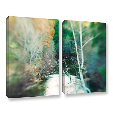 ArtWall Calm River by Elena Ray 2 Piece Photographic Print on Wrapped Canvas Set; 24'' H x 36'' W