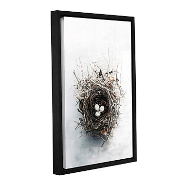 ArtWall Bird Nest by Elena Ray Framed Photographic Print on Wrapped Canvas; 24'' H x 16'' W