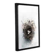 ArtWall Bird Nest by Elena Ray Framed Photographic Print on Wrapped Canvas; 48'' H x 32'' W