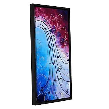 ArtWall Music by Shiela Gosselin Framed Painting Print on Wrapped Canvas; 36'' H x 18'' W