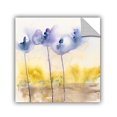 ArtWall Dream In Blue by Karin Johannesson Removable Painting Print; 18'' H x 18'' W