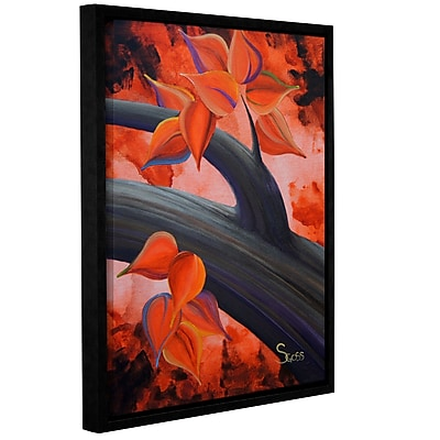 ArtWall Life Journey by Shiela Gosselin Framed Painting Print on Wrapped Canvas; 32'' H x 24'' W