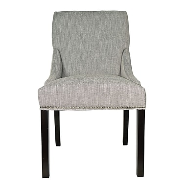 Sole Designs Lucky Arm Chair (Set of 2); Platinum