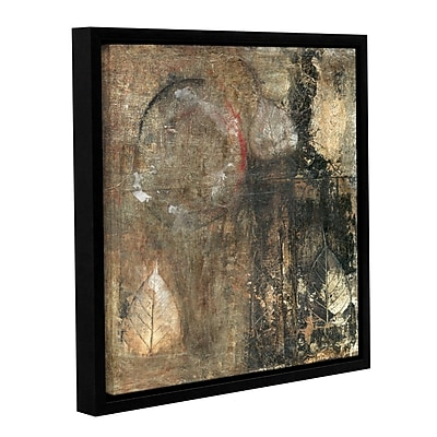 ArtWall Bodhi Leaf Skeletons by Elena Ray Framed Painting Print on Wrapped Canvas; 36'' H x 36'' W
