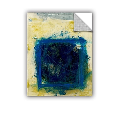 ArtWall Blue Squares by Elena Ray Removable Painting Print; 24'' H x 32'' W
