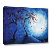 ArtWall Into The Light by Shiela Gosselin Painting Print on Wrapped Canvas; 24'' H x 32'' W