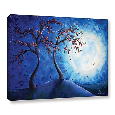 ArtWall Into The Light by Shiela Gosselin Painting Print on Wrapped Canvas; 14'' H x 18'' W