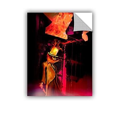ArtWall 29 Hanbury Street by Michael L Stewart Removable Graphic Art; 48'' H x 36'' W