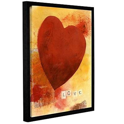 ArtWall Little Zen Arrangement by Elena Ray Framed Painting Print on Wrapped Canvas; 18'' H x 14'' W