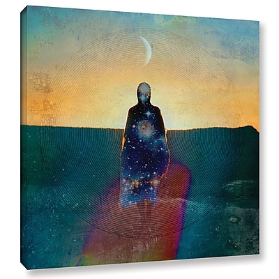 ArtWall Celestial Soul by Elena Ray Graphic Art on Wrapped Canvas; 24'' H x 24'' W