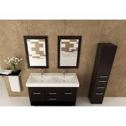 JWH Living Rigel 48'' Double Bathroom Vanity Set