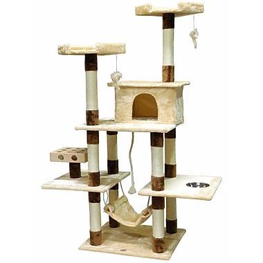 Go Pet Club 70'' IQ Box Cat Tree