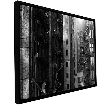 ArtWall Buildings by Revolver Ocelot Framed Photographic Print on Wrapped Canvas; 16'' H x 24'' W
