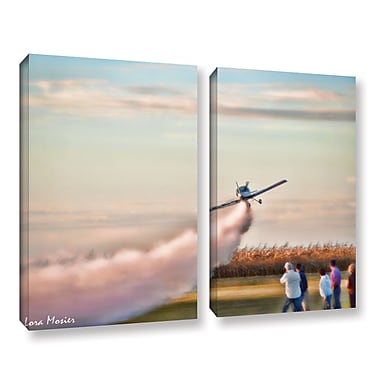 ArtWall Lora Mosier's 2 Piece Photographic Print on Wrapped Canvas Set; 24'' H x 32'' W