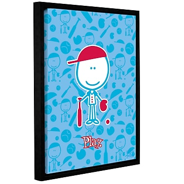 ArtWall Play by F(Felittle) Kamriana Framed Graphic Art on Wrapped Canvas; 32'' H x 24'' W