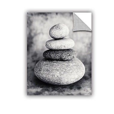 ArtWall Black And White Sea Stones by Elena Ray Photographic Print; 48'' H x 36'' W