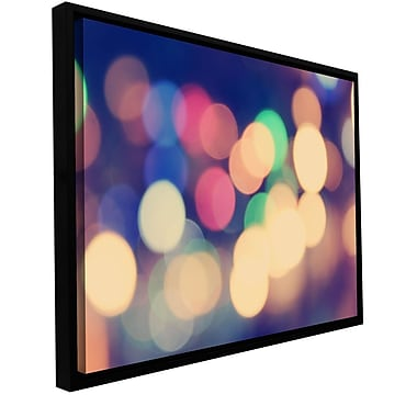 ArtWall Blurred Lights by Revolver Ocelot Framed Graphic Art on Gallery-Wrapped Canvas