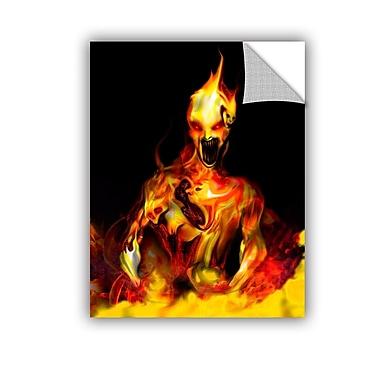 ArtWall Caesium 137 by Michael L Stewart Graphic Art; 48'' H x 36'' W
