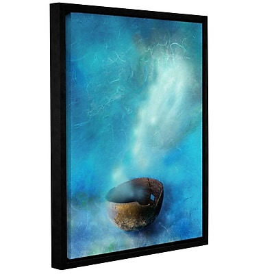ArtWall Broken Bowl by Elena Ray Framed Graphic Art on Wrapped Canvas; 36'' H x 48'' W WYF078278526156