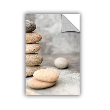 ArtWall Still Life River Stones by Elena Ray Removable Photographic Print; 48'' H x 32'' W