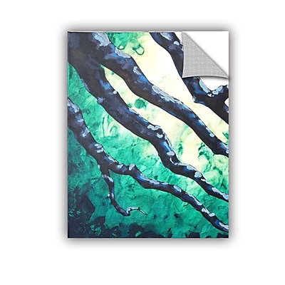 ArtWall Emerald by Shiela Gosselin Painting Print; 18'' H x 14'' W