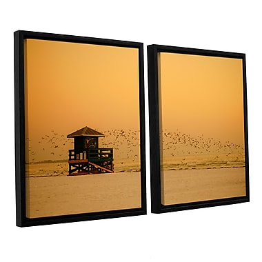 ArtWall 1095Aa by Lindsey Janich 2 Piece Framed Photographic Print on Wrapped Canvas Set