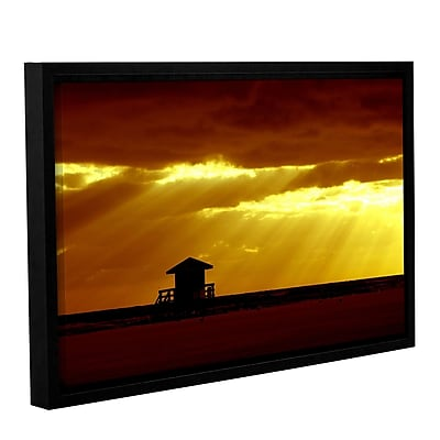 ArtWall Siesta Key by Lindsey Janich Framed Photographic Print on Wrapped Canvas; 16'' H x 24'' W