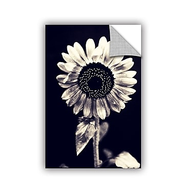 ArtWall Black And White Sunflower by Elena Ray Photographic Print; 36'' H x 24'' W