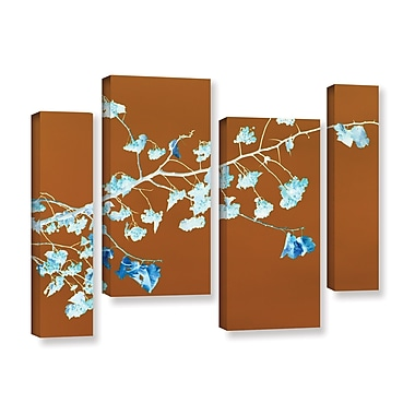 ArtWall Just Leaving by Lora Mosier 4 Piece Graphic Art on Wrapped Canvas Set; 36'' H x 54'' W