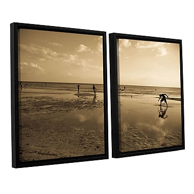 ArtWall _0397 by Lindsey Janich 2 Piece Framed Photographic Print on Canvas Set; 32'' H x 48'' W