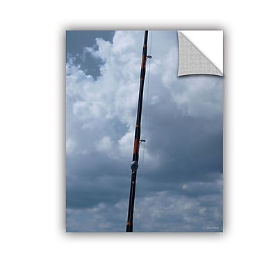ArtWall Fishing Anyone? by Lora Mosier Removable Photographic Print; 36'' H x 48'' W