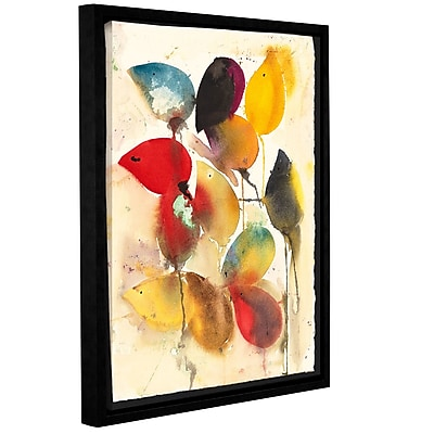 ArtWall Mice by Karin Johannesson Framed Painting Print on Canvas; 24'' H x 18'' W