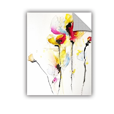 ArtWall Spring Vibrance by Karin Johannesson Removable Painting Print; 14'' H x 18'' W
