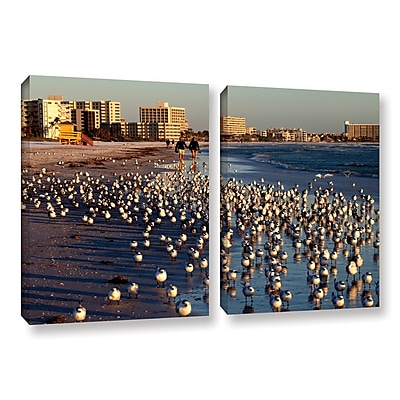 ArtWall 0700A by Lindsey Janich 2 Piece Photographic Print on Wrapped Canvas Set; 32'' H x 48'' W