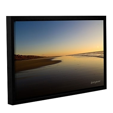ArtWall Equihen Plage by Lindsey Janich Framed Photographic Print on Wrapped Canvas; 24'' H x 36'' W
