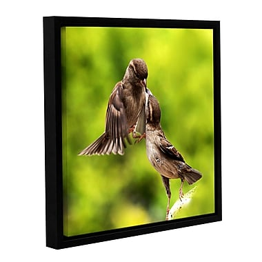 ArtWall Ulookinatme by Lindsey Janich Framed Photographic Print on Wrapped Canvas; 18'' H x 18'' W