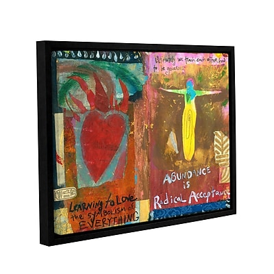 ArtWall Art Journal Abundance by Elena Ray Framed Painting Print on Wrapped Canvas; 24'' H x 32'' W