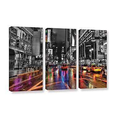 ArtWall 'Nyc' by Revolver Ocelot 3 Piece Graphic Art on Wrapped Canvas Set