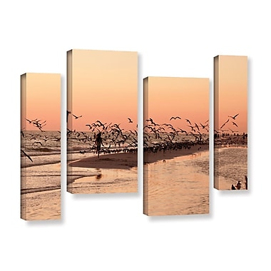 ArtWall More by Lindsey Janich 4 Piece Photographic Print on Wrapped Canvas Set; 36'' H x 54'' W