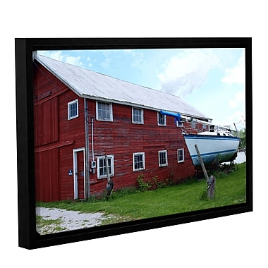 ArtWall No Parking by Lora Mosier Framed Photographic Print on Wrapped Canvas; 12'' H x 18'' W