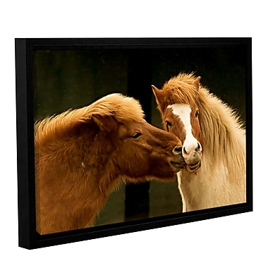 ArtWall Hugz For 2014 by Lindsey Janich Framed Photographic Print on Wrapped Canvas; 24'' H x 36'' W
