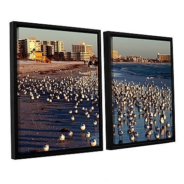 ArtWall 0700A by Lindsey Janich 2 Piece Framed Photographic Print on Canvas Set; 32'' H x 48'' W